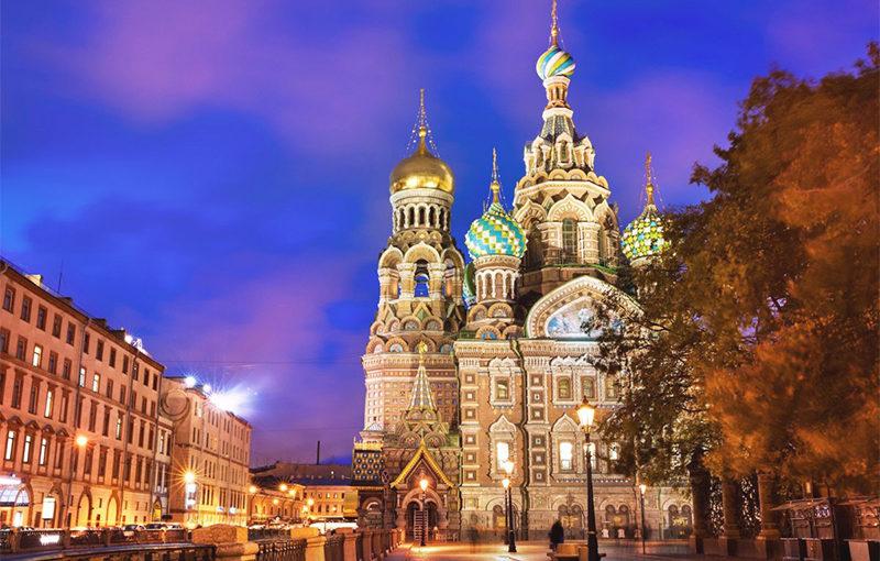 ประวัติความเป็นมาของโบสถ์หรือวิหารใน Saint Petersburg